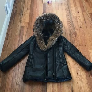 Authentic !!! Leather rare mackage